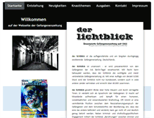 Tablet Preview of lichtblick-zeitung.de